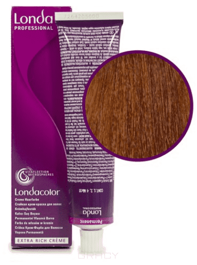 Londa, Краска Лонда Профессионал Колор для волос Londa Professional Color (палитра 133 цвета), 60 мл 8/44 светлый блонд интенсивно-медный косметика для волос лонда отзывы