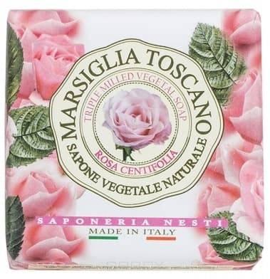 Nesti Dante, Мыло Роза Центифоли Rosa Centifolia, 200 гр.Marsiglia Toscano - лини Лаванда Тоскана<br><br>