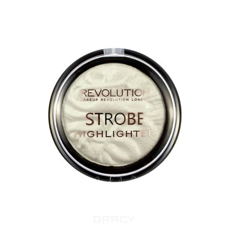 Купить MakeUp Revolution, Хайлайтер для лица Strobe Highlighter, 7.5 гр (6 оттенков) Flash