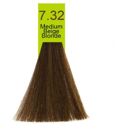 Купить Macadamia Natural Oil, Краска для волос Oil Cream Color, 100 мл (97 тонов) 7.32 Средний бежевый блондин