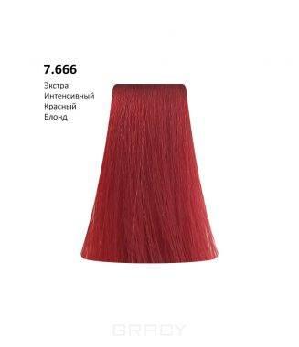 Купить BB One, Перманентная крем-краска Picasso (153 оттенка) 7.666 Extra Intensive Red Blond/Экстра Интенсивный Красный Блондин
