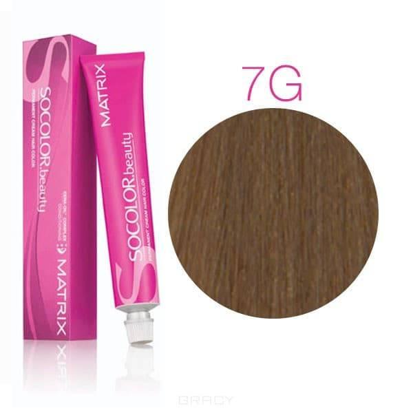 Matrix, Крем-краска для волос SoColor.Beauty, 90 мл (117 оттенков) SOCOLOR.beauty 7G блондин золотистыйОкрашивание волос SoColor, Color Sync, оксиды, обесцвечивание<br><br>