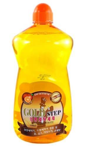 Купить KPMS, Gold Step Detergent Жидкое средство для стирки с частицами золота, 1100 мл
