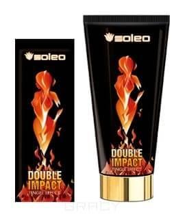 Купить Soleo, Крем для загара с интенсивным тингл эфектом Double Impact, 15 мл