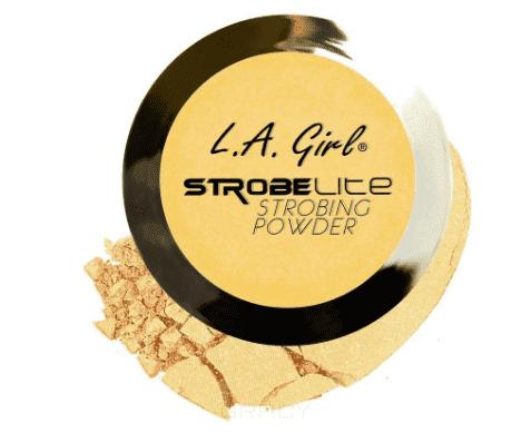 L.A. Girl, Пудра для стробинга компактная Strobe Lite Strobing Powder (10 оттенков) тон 60 ватт