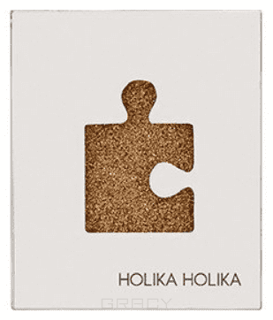 Купить Holika Holika, Piece Matching Shadow Glitter Eyes Тени для глаз блестящие, 2 г (13 оттенков) Холика Холика Золотой GGD02 24K
