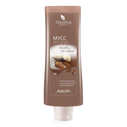 Premium Мусс для душа Chocolate  Almond, 200 мл ГП080008