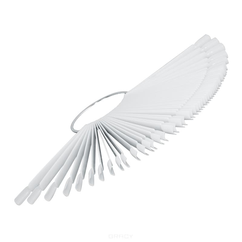 Planet Nails Палитра для лаков веер, 1 шт, 24 шт planet nails палитра для лаков веер 1 шт 24 шт