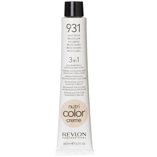 Revlon, Крем-краска 3 в 1 Nutri Color Creme, (29 оттенков) 931 Светлый бежевый