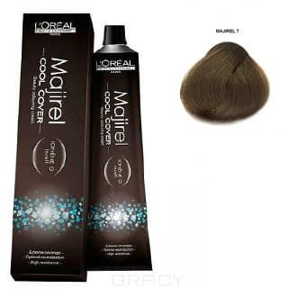 LOreal Professionnel, Краска для волос Majirel Cool Cover, 50 мл (33 оттенка) 7. блондин