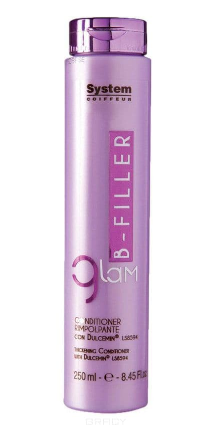 Dikson, Уплотняющий кондиционер для волос с комплексом Glam B-Filler Dulcemin LS8594, 250 мл