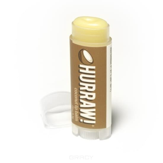 Hurraw, Бальзам для губ Кокос Coconut Lip Balm