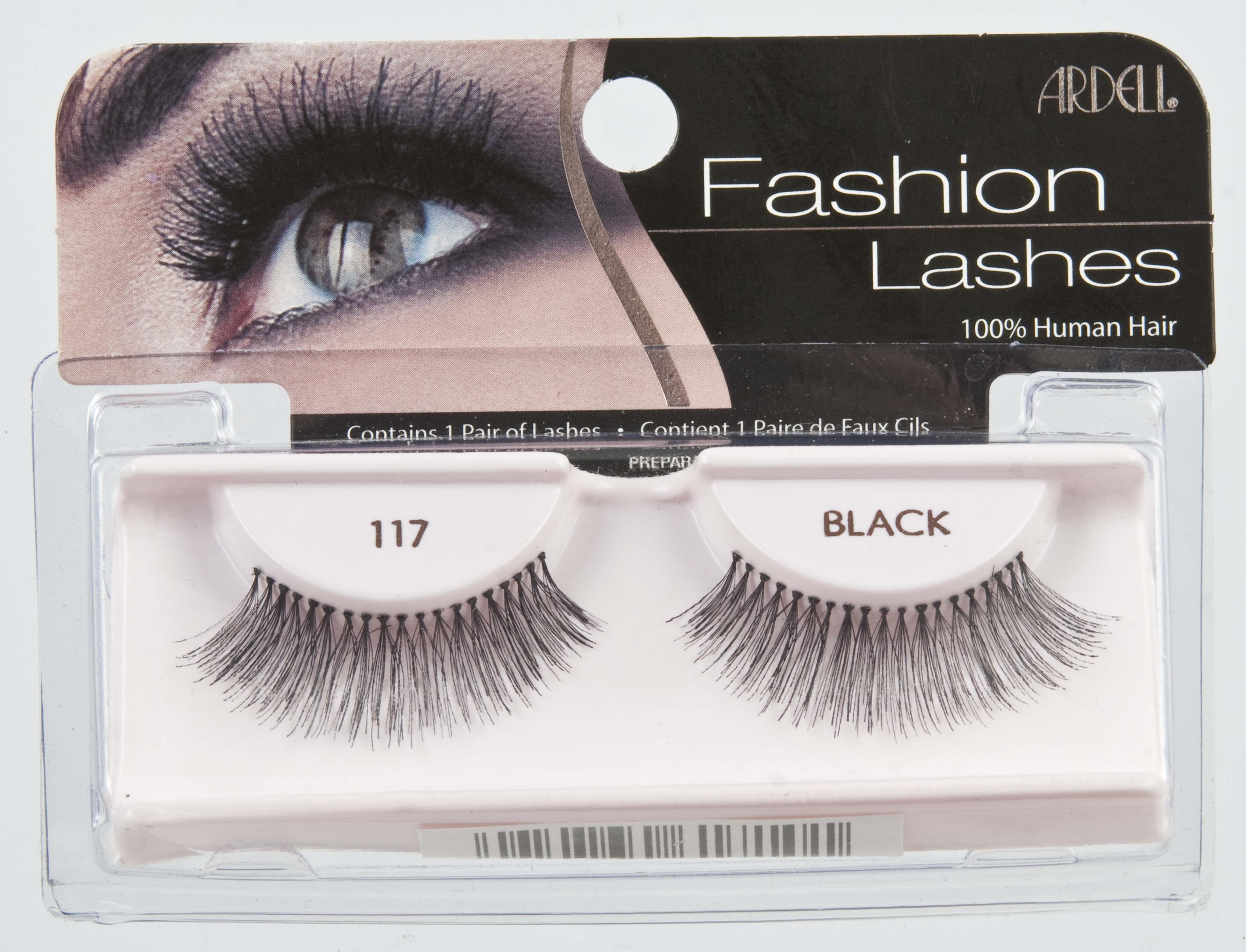 Ardell Накладные ресницы Fashion Lashes 117 накладные ресницы ardell magnetic strip lash double demi wispies цвет double demi wispies variant hex name 000000