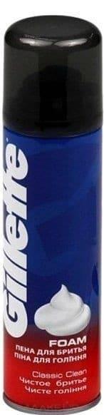 Gillette Пена для бритья Чистое бритье Clean Shave, 200 мл пена для бритья зачем