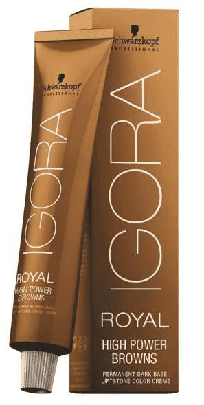 Schwarzkopf Professional Крем-краска Igora Royal Power Browns, 60 мл (6 оттенков) крем schwarzkopf professional undercoat primer foundation 75 мл