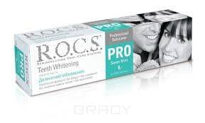 ROCS Зубная паста Деликатное отбеливание Pro Sweet Mint, 135 г r o c s зубная паста для подростков teens 8 18 лет аромат знойного лета земляника 74гр rocs
