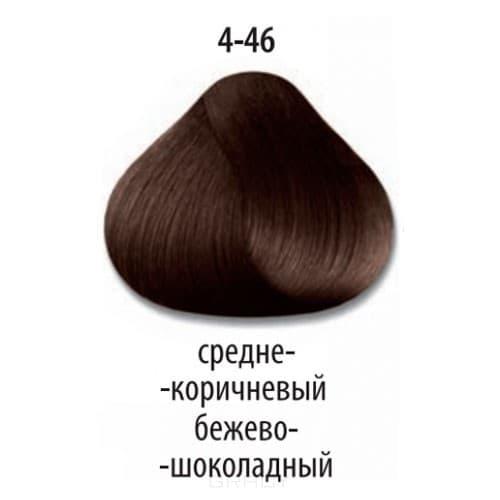 Constant Delight, Стойкая крем-краска для волос Delight Trionfo (63 оттенка), 60 мл 4-46 Средний коричневый бежевый шоколадный