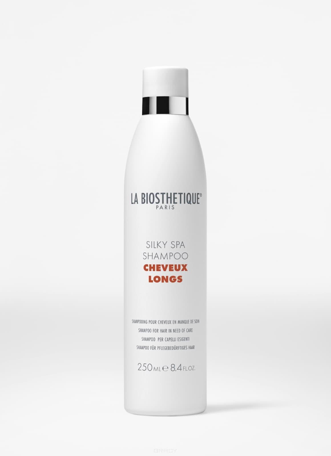 La Biosthetique SPA-шампунь для придания шелковистости длинным волосам Silky Spa Shampoo, 450 мл la biosthetique silky spa shampoo spa шампунь для придания шелковистости длинным волосам 1000 мл
