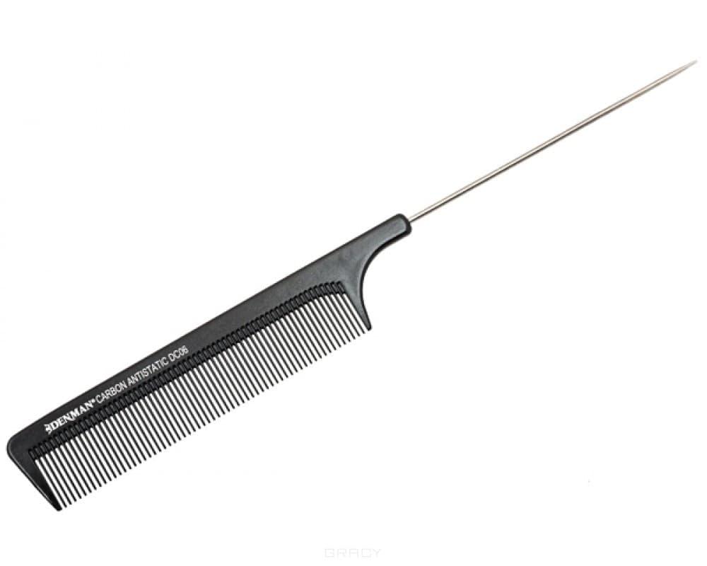 Denman Расческа карбоновая DC6 hercules расчёска карбоновая с ручкой c11