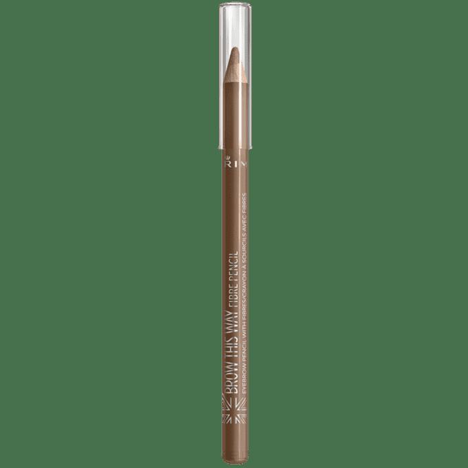 Rimmel Карандаш для бровей Brow This Way, 1.4 гр (3 оттенка), № 02 Medium, 1.4 гр divage карандаш для бровей wow brow 8 гр 2 оттенка 02 8 гр