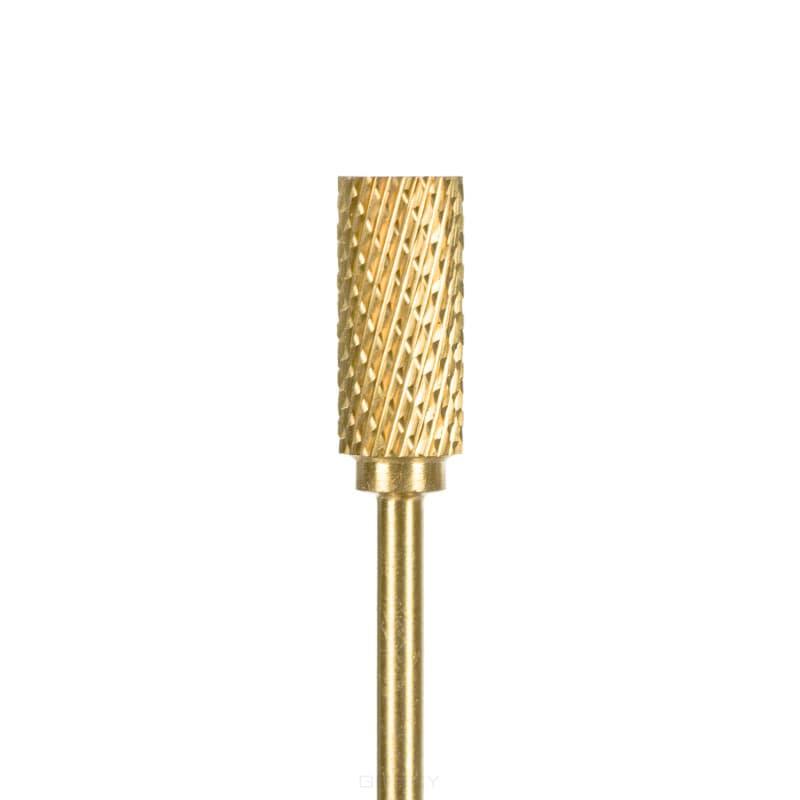 Planet Nails Фреза цилиндрическая средней насечкой 6 мм (Т61) бор фреза по алюминию цилиндрическая zya 6 0 мм ruko 116015a