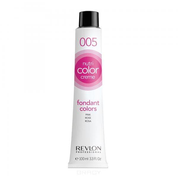 Revlon, Крем-краска 3 в 1 Nutri Color Creme, (29 оттенков) 005 Розовый
