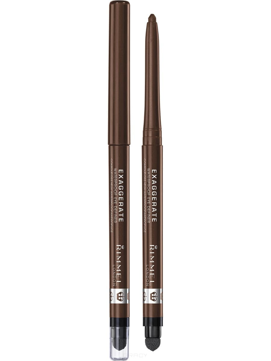 Rimmel Карандаш для глаз Exaggerate Waterproof Eye Definer, (6 оттенков), Карандаш для глаз Exaggerate Waterproof Eye Definer, 1.2 гр (5 оттенков), тон 261 Noir, 1.2 гр wireless cordless digital doorbell remote door bell chime waterproof eu us uk au plug 110 220v