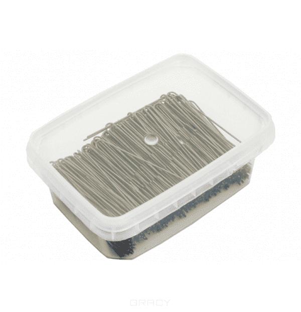Sibel Шпильки гладкие 70 мм, 500 гр (2 цвета), 500 гр, черные foldable black bronze bath towel rack active bathroom towel holder double towel shelf with hooks bathroom accessories