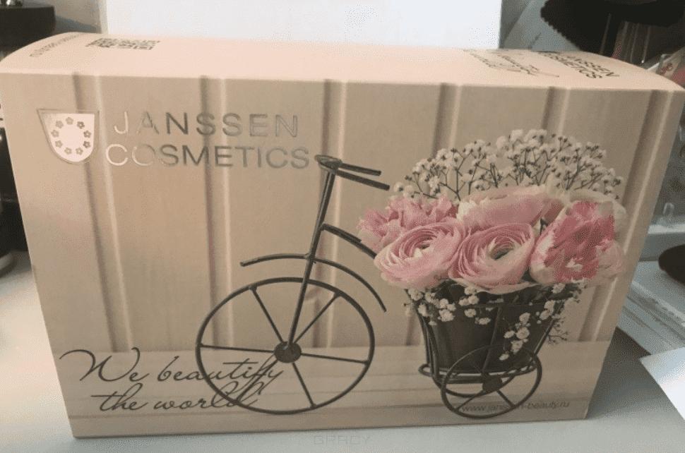 Janssen Набор Сияние молодости (в коричневой подарочной коробке): J110 + J160 + J1990 reneve крем лифтинг регенерирующий anti age myoliss creme 50мл