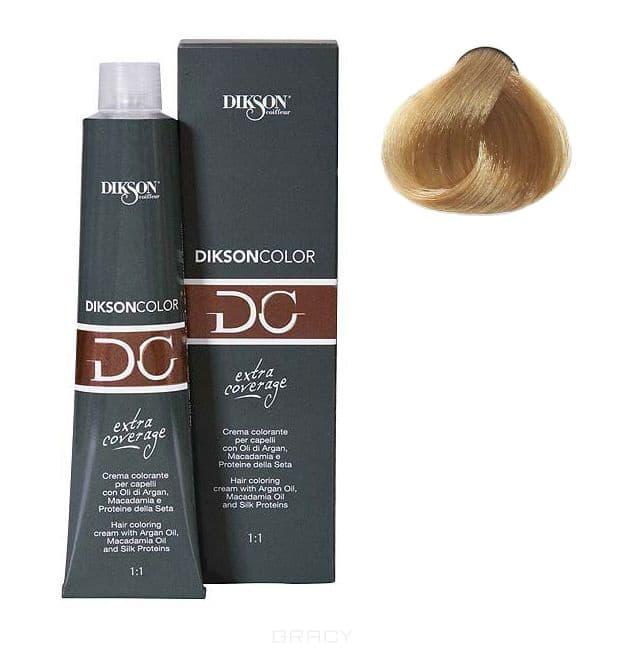 Dikson, Стойкая парфюмированная крем-краска для волос Extra Coverage, 120 мл (8 оттенков) 121-09 9,00 Dikson extra coverage 9N/E очень светло-русый