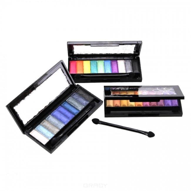 L.A. Girl Тени для глаз, палетка 10 Color Eye Palette (5 видов), Тени для глаз, палетка 10 Color Eye Palette, 1 шт, Nightlife nightlife cd