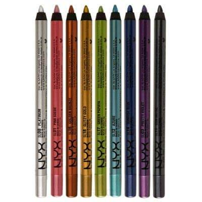 NYX Стойкий карандаш для глаз Slide on Pencil (9 оттенков), Pretty Violet, 1 шт карандаш