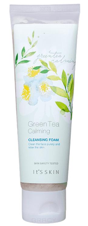It's Skin Успокаивающая очищающая пенка Грин Ти Green Tea Calming Cleansing Foam, 150 мл iso advanced detachable larynx heart and lung anatomical model