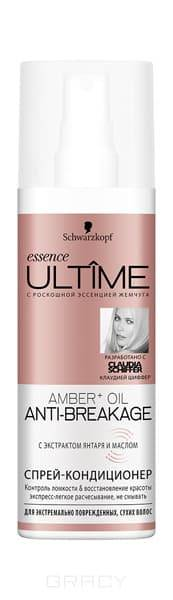 Schwarzkopf Professional Спрей-кондиционер для экстремально поврежденных и сухих волос Ultime Amber+Oil, 200 мл
