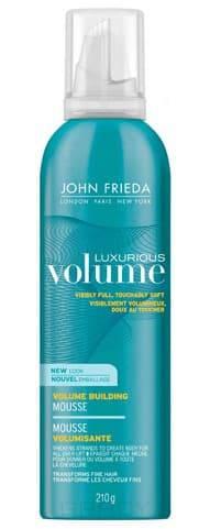 John Frieda Мусс для создания объема с термозащитным действием Luxurious Volume, 200 мл