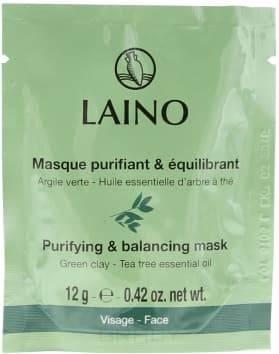 Laino Маска очищающая с зелёной глиной, 12 г, Маска очищающая с зелёной глиной, 12 г, 12 г momotani очищающая маска пленка 80 г