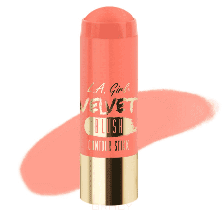 Румяна-стик Velvet Contour Stick blush (7 оттенков) hoola quickie contour stick карандаш для контуринга лица