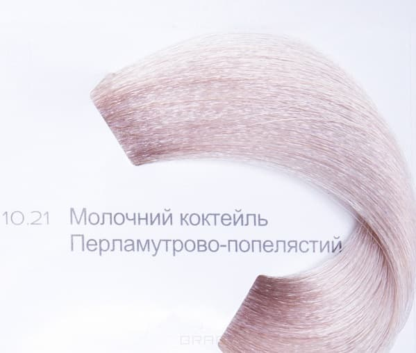 LOreal Professionnel, Краска для волос Dia Light, 50 мл (34 оттенка) 10.21 молочный коктейль перламутровый пепельный
