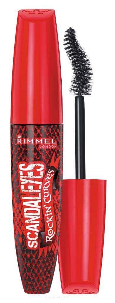 Купить Rimmel - Тушь для ресниц Rockin Curves тон 001, 12 мл