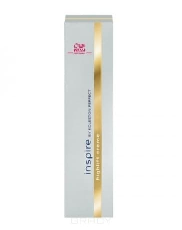 Wella Осветляющий Крем Inspire Highlift Creme, 60 мл крем inspire pure creme 60 мл серебряный