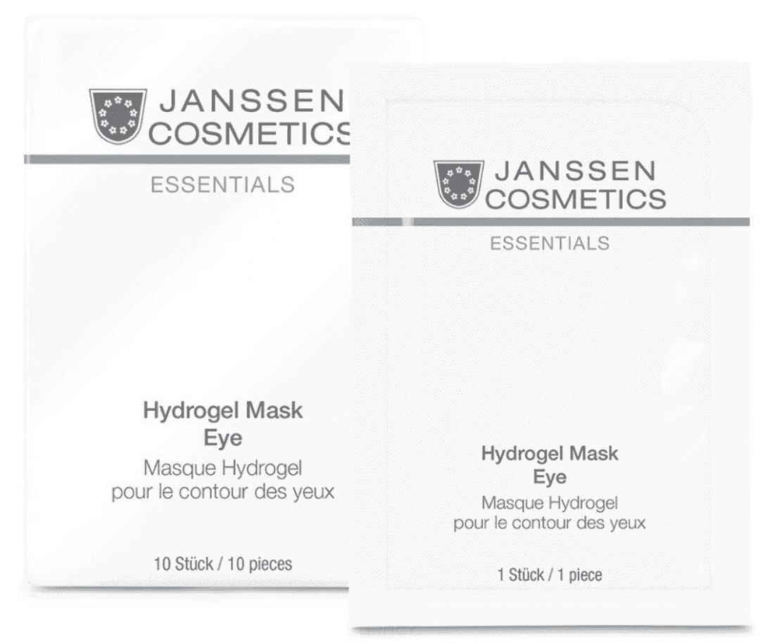Janssen Укрепляющие гидрогель-патчи для кожи вокруг глаз Hydrogel mask eye, 1 шт гидрогелевые патчи для глаз ottie gold prestige resilience hydrogel eye zone mask