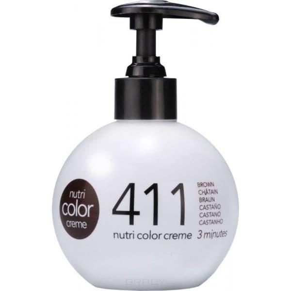 Revlon, Крем-краска 3 в 1 Nutri Color Creme, (29 оттенков) 411 Коричневый