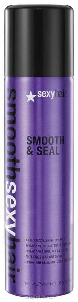 Sexy Hair, Разглаживающий спрей Smooth  Seal, 225 мл