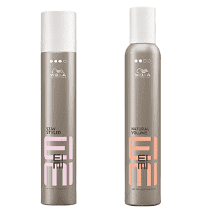 Wella, Набор Лак Stay Styled 300 мл + Пена Natural Volume 300 мл