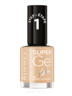 Rimmel Гель-лак для ногтей Super Gel Kate nail polish, 12 мл (18 оттенков), 042 Rock N Roll, 12 мл giotto акварель полусухая глиттер 8 цветов кисточка 331200