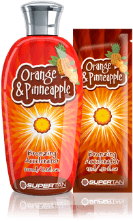 Supertan Бронзирующий ускоритель загара с маслом апельсина Orange & Pineaple, 200 мл