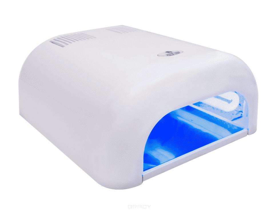 """цены Planet Nails УФ лампа 36W Tunnel """"Econom"""" (11 цветов), УФ лампа 36W Tunnel """"Econom"""", 1 шт, Красный"""