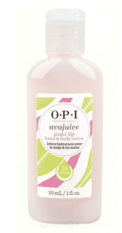 OPI Лосьон для рук Имбирная Лилия Avojuice, 250 мл opi лосьон для рук и тела opi avojuice skin quenchers spiced persimmon hand