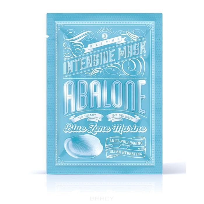 Blithe Маска тканевая интенсивная увлажняющая «Моллюск» Intensive Mask Abalone, 25 г blithe маска тканевая интенсивная увлажняющая моллюск 25 г