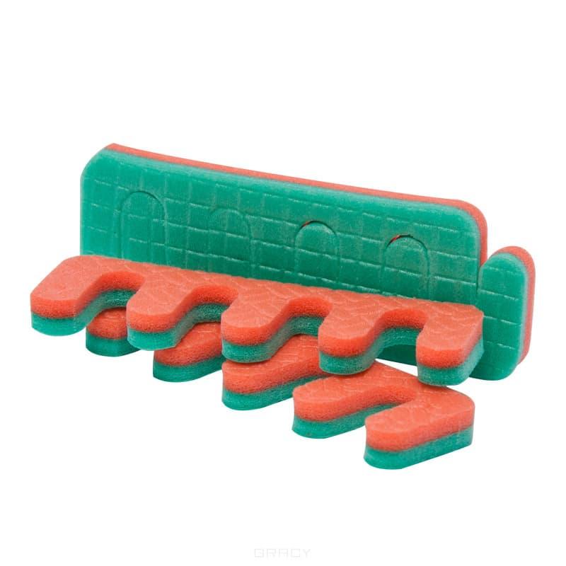 Planet Nails Разделители для пальцев, 50 шт разделители для пальцев dewal синие розовые 8 шт упак